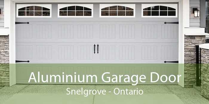 Aluminium Garage Door Snelgrove - Ontario