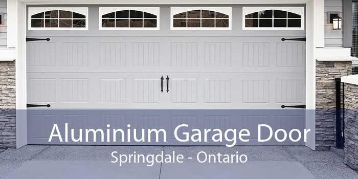 Aluminium Garage Door Springdale - Ontario