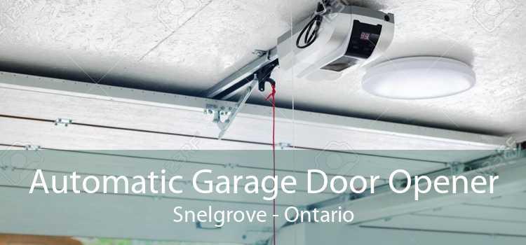 Automatic Garage Door Opener Snelgrove - Ontario