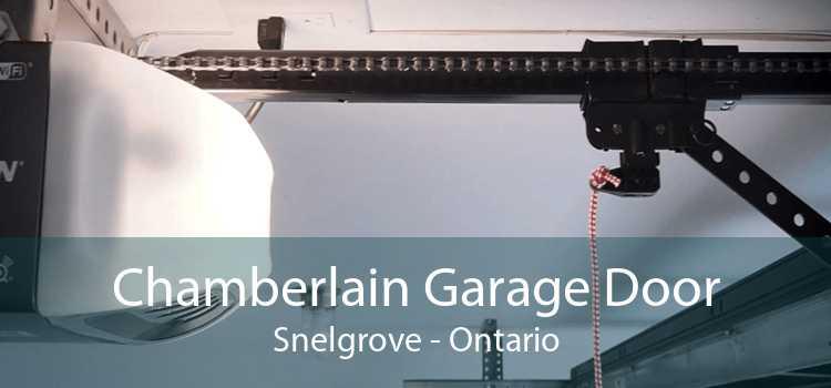 Chamberlain Garage Door Snelgrove - Ontario