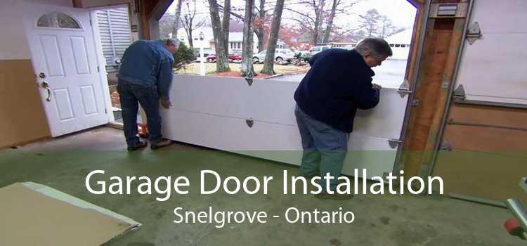 Garage Door Installation Snelgrove - Ontario
