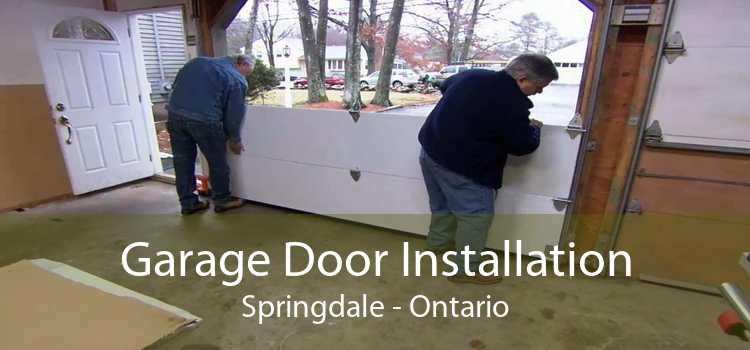 Garage Door Installation Springdale - Ontario
