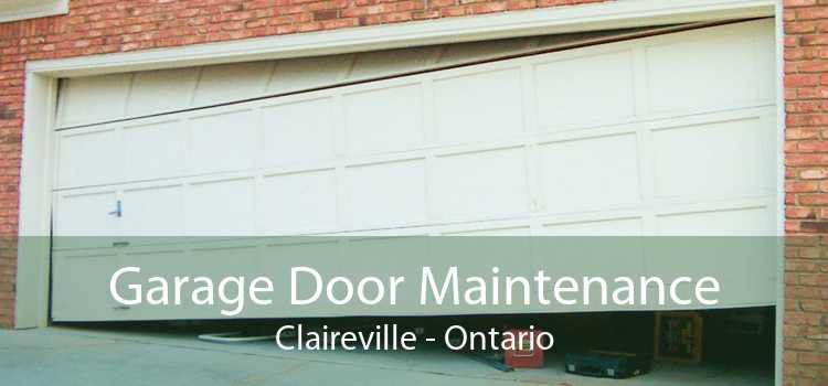 Garage Door Maintenance Claireville - Ontario