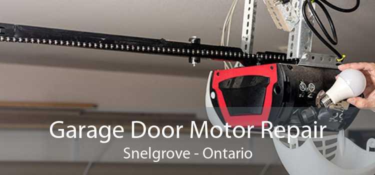 Garage Door Motor Repair Snelgrove - Ontario