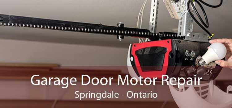 Garage Door Motor Repair Springdale - Ontario