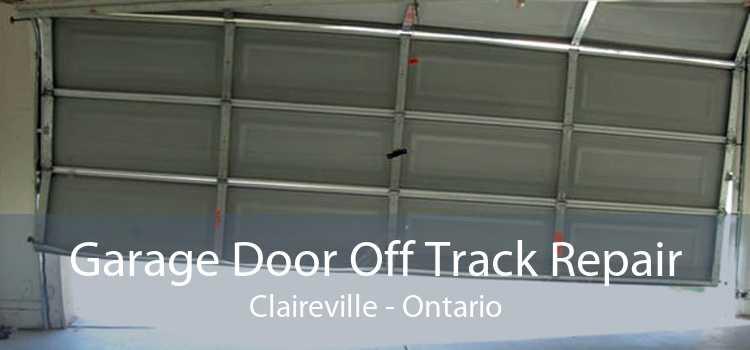Garage Door Off Track Repair Claireville - Ontario
