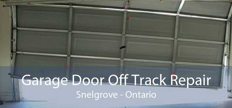 Garage Door Off Track Repair Snelgrove - Ontario