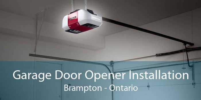 Garage Door Opener Installation Brampton - Ontario