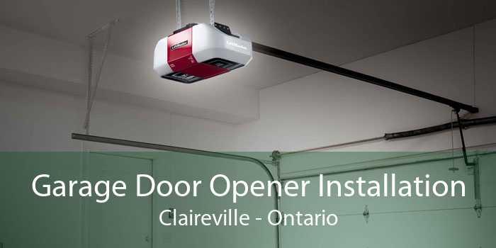 Garage Door Opener Installation Claireville - Ontario