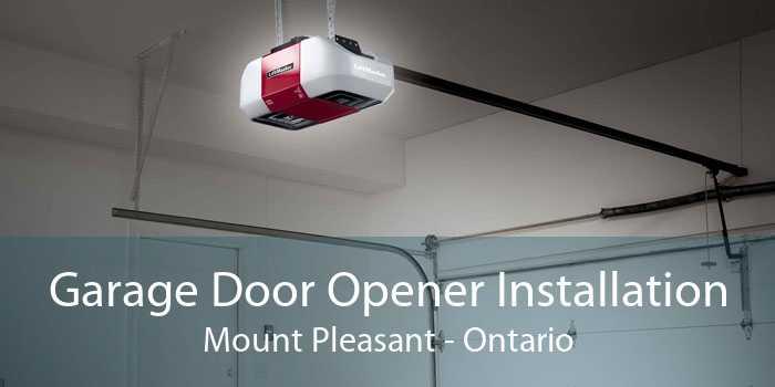 Garage Door Opener Installation Mount Pleasant - Ontario