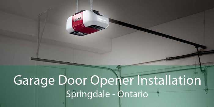 Garage Door Opener Installation Springdale - Ontario
