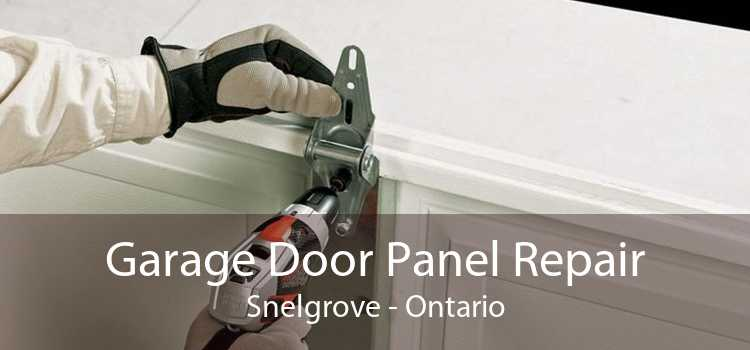 Garage Door Panel Repair Snelgrove - Ontario