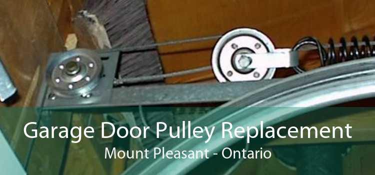Garage Door Pulley Replacement Mount Pleasant - Ontario