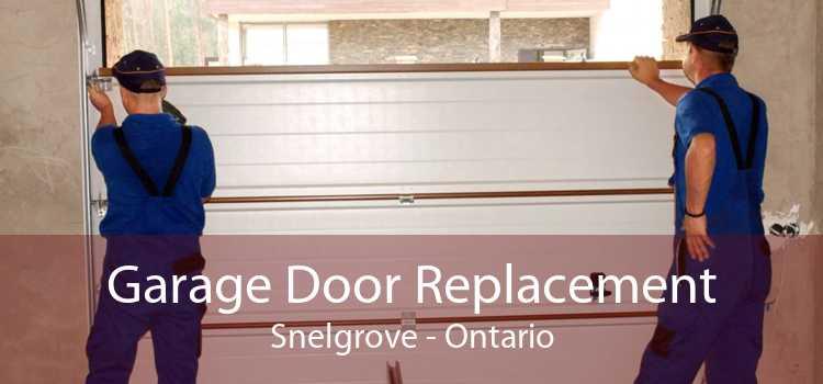 Garage Door Replacement Snelgrove - Ontario