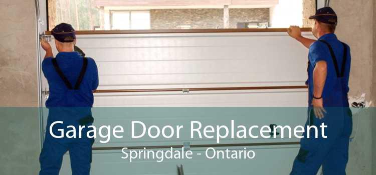 Garage Door Replacement Springdale - Ontario