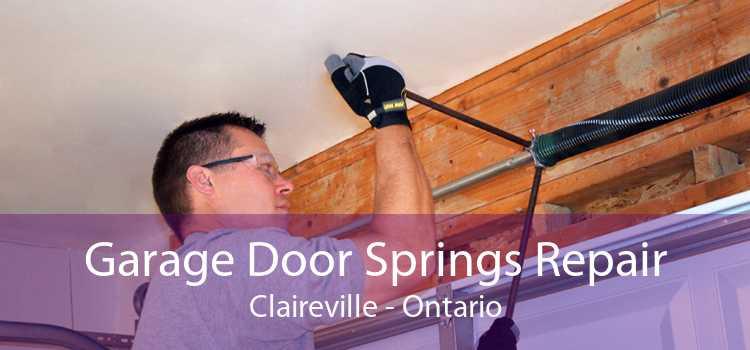 Garage Door Springs Repair Claireville - Ontario