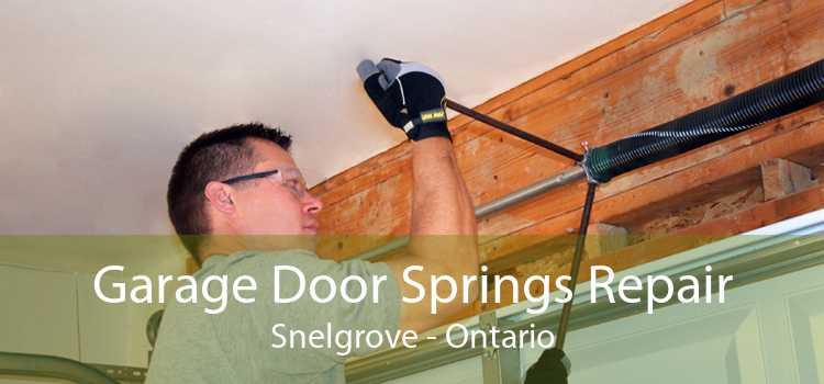 Garage Door Springs Repair Snelgrove - Ontario