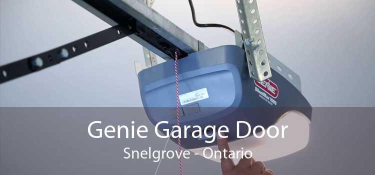 Genie Garage Door Snelgrove - Ontario