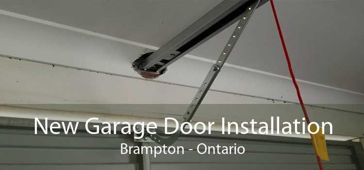 New Garage Door Installation Brampton - Ontario