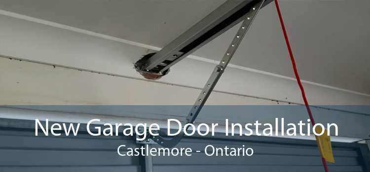 New Garage Door Installation Castlemore - Ontario