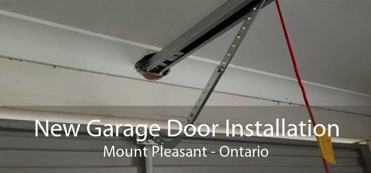 New Garage Door Installation Mount Pleasant - Ontario