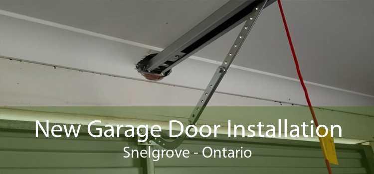 New Garage Door Installation Snelgrove - Ontario