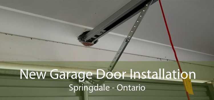 New Garage Door Installation Springdale - Ontario