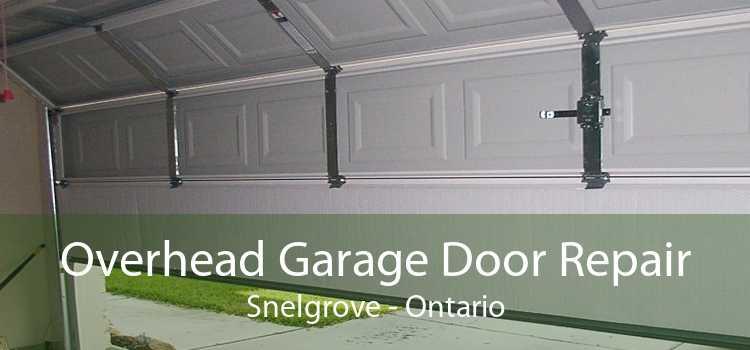 Overhead Garage Door Repair Snelgrove - Ontario