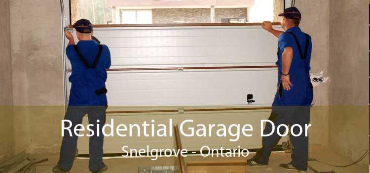 Residential Garage Door Snelgrove - Ontario