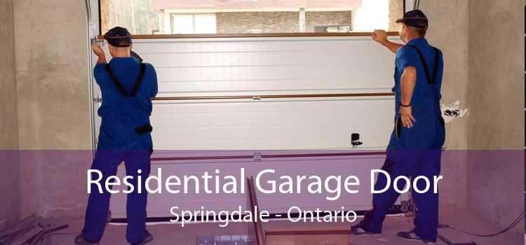 Residential Garage Door Springdale - Ontario