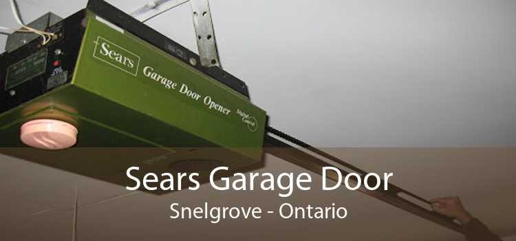 Sears Garage Door Snelgrove - Ontario