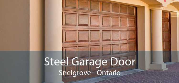 Steel Garage Door Snelgrove - Ontario