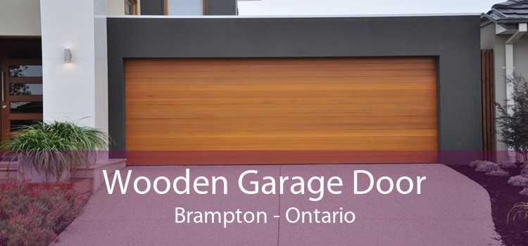 Wooden Garage Door Brampton - Ontario