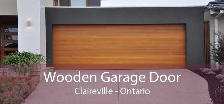 Wooden Garage Door Claireville - Ontario
