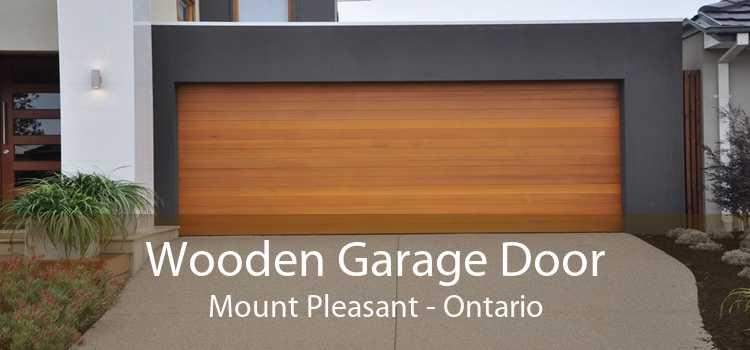Wooden Garage Door Mount Pleasant - Ontario